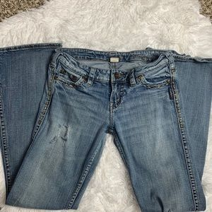 Silver Jeans Jeans - Silver Frances Distressed Jeans Size 27